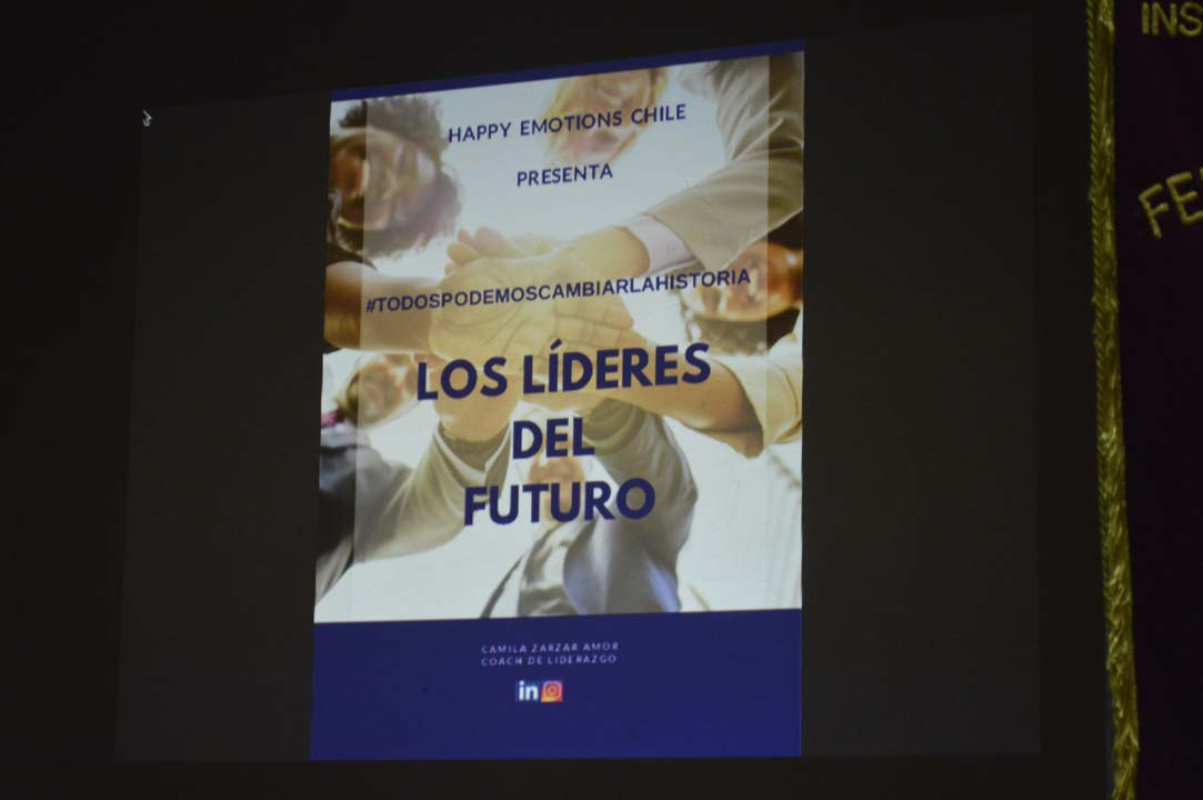 Seminario de Liderazgo y Emprendimiento en INSUCO Chillán
