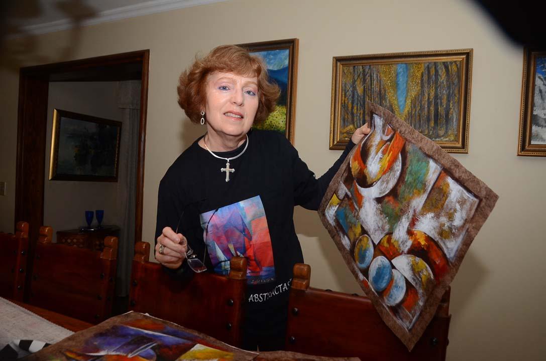 Estela del Valle Mañez, artista visual
