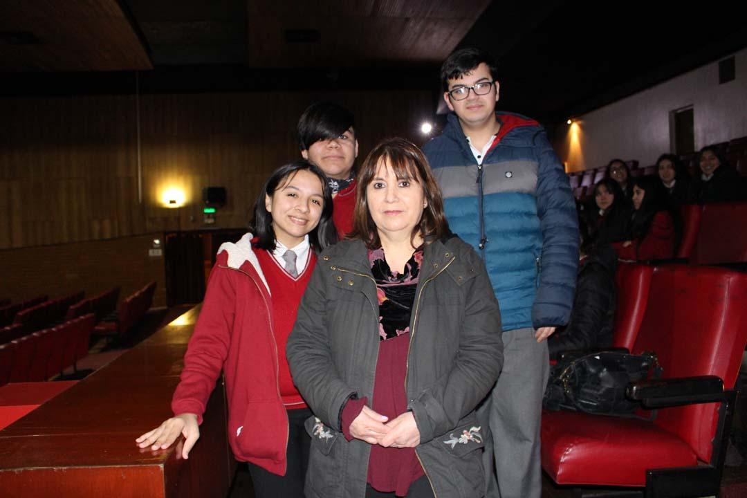 Yamilet Muñoz, Javier Salvo, Irene Medina y Cristóbal Betancourt