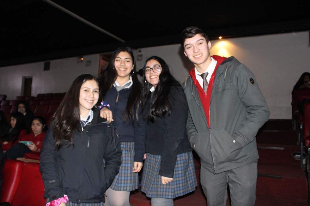 Ayleen Chavarriga, Alejandra Oyarzo, Fernanda Betancourt y Jorge Pouch