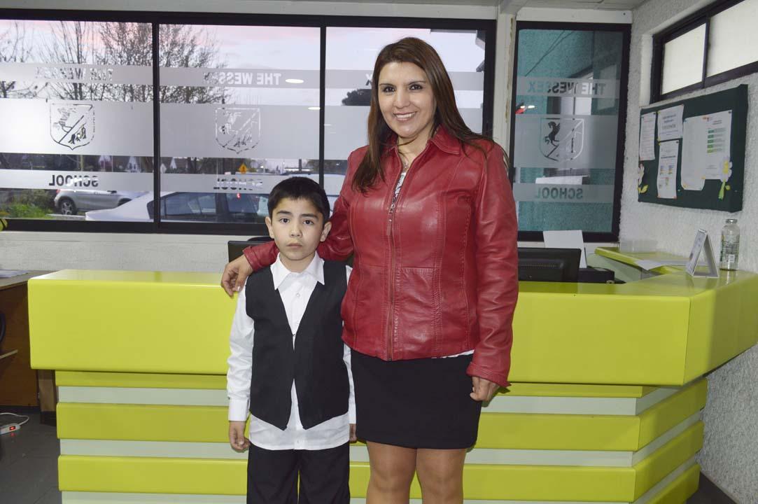 Maximiliano Orleans y Sandra Rivas