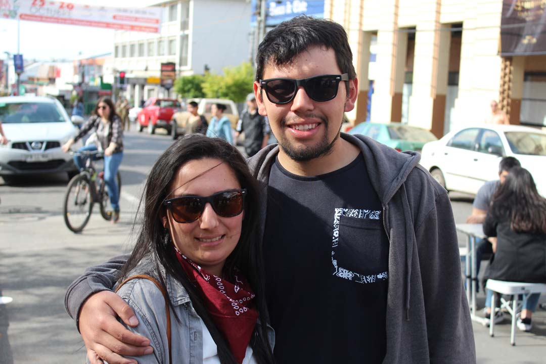 Leticia Gutiérrez y Omar Rivas