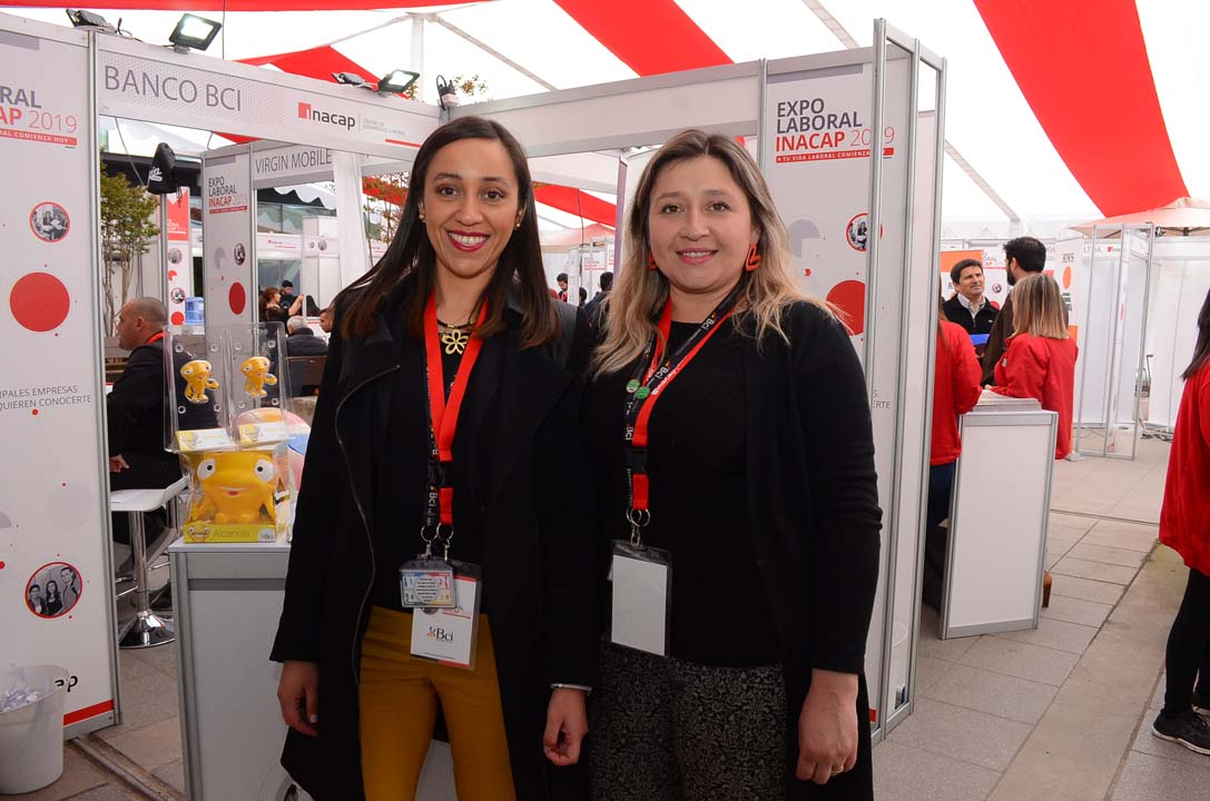 Jessica Arroyo y Carolina Reyes de BCI