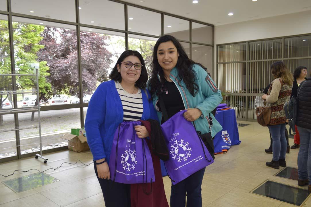 Karol Contreras y Tatiana Campos