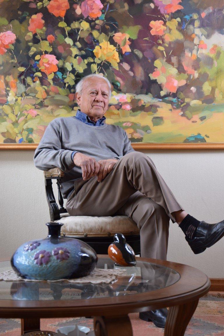 Luis Guzmán, pintor y académico chillanejo