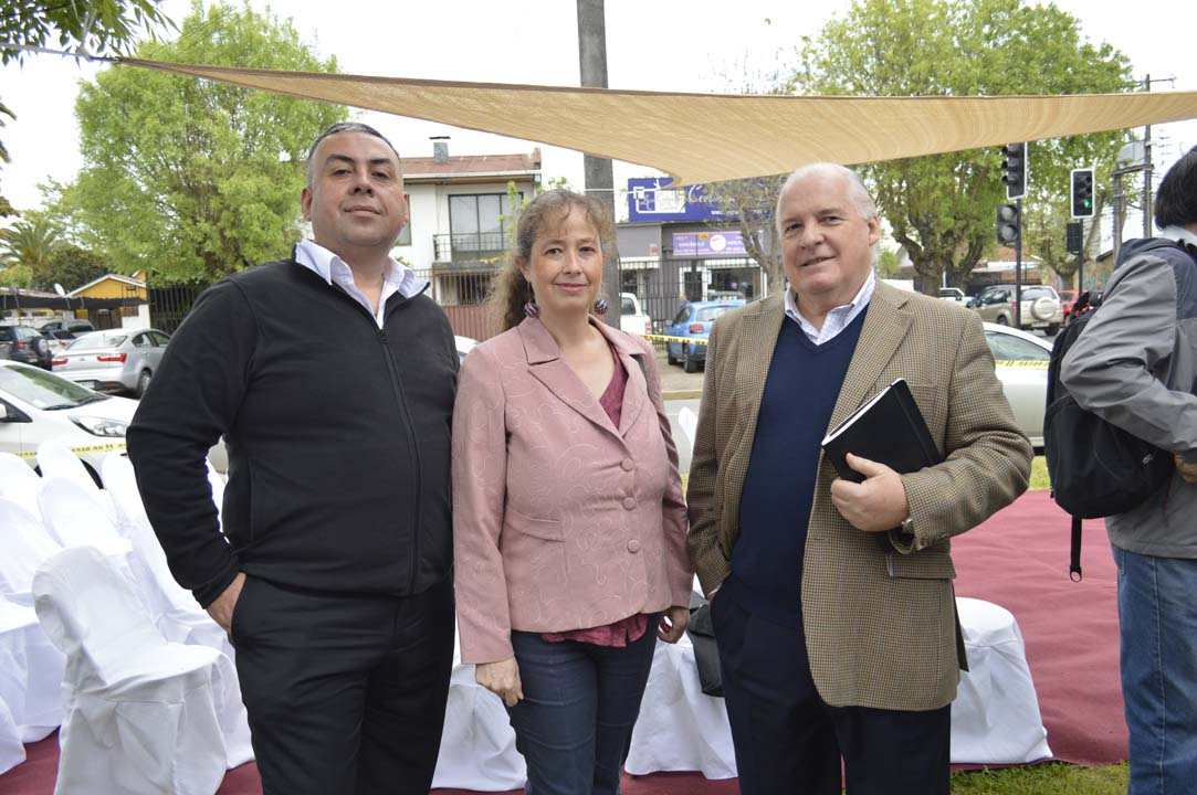 Jaime Navarrete, Susana Villar y Valentín Martínez