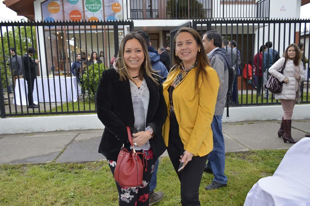 Pamela Vergara y Virna Veas