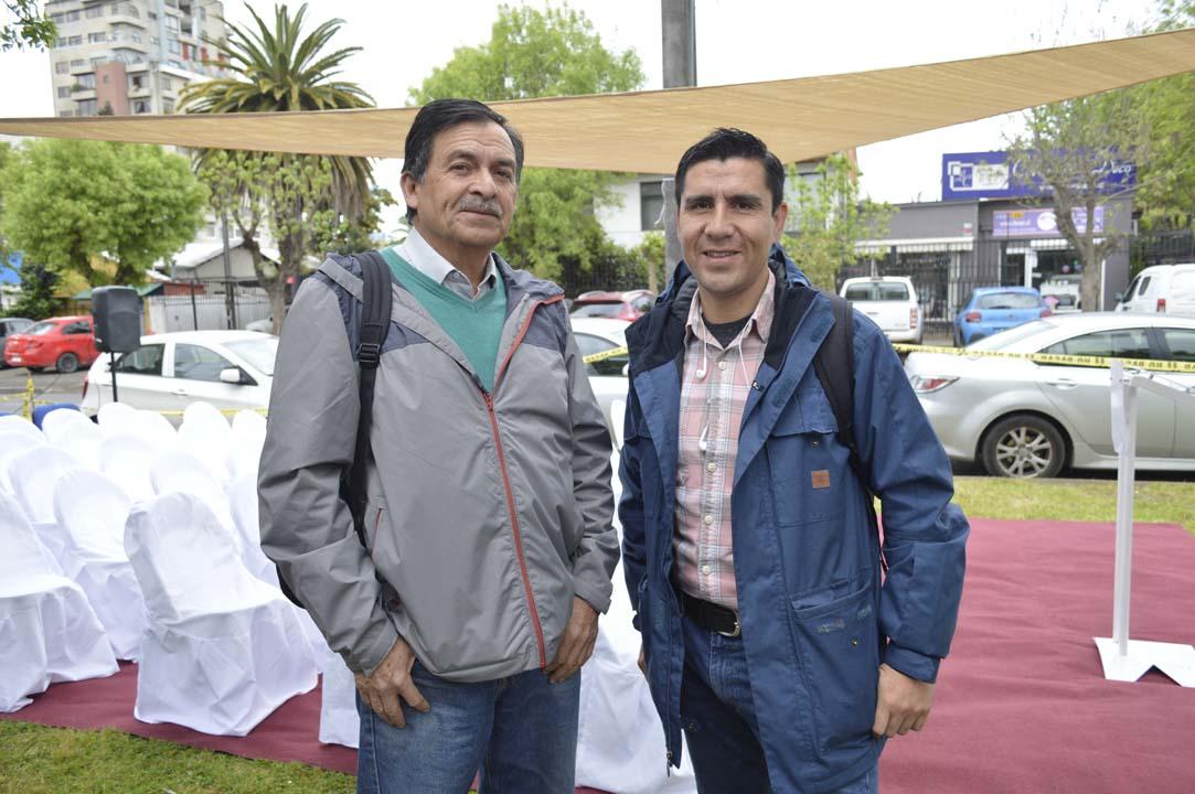 Guillermo Riveros y Juan Pablo Fuentes