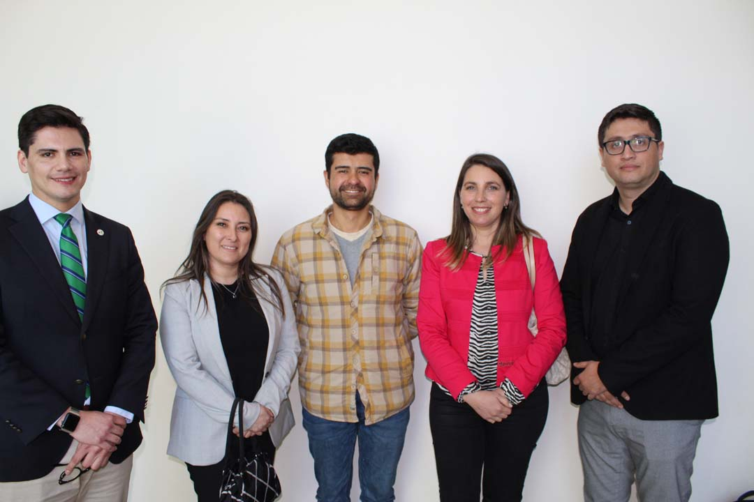 Pablo Benavides, Lissett Martel, Leonel Fuentes, Pilar Varela y Félix Perera.