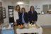 María Claudia Ahumada, Sandra Muñoz y Gricelda Aguilera