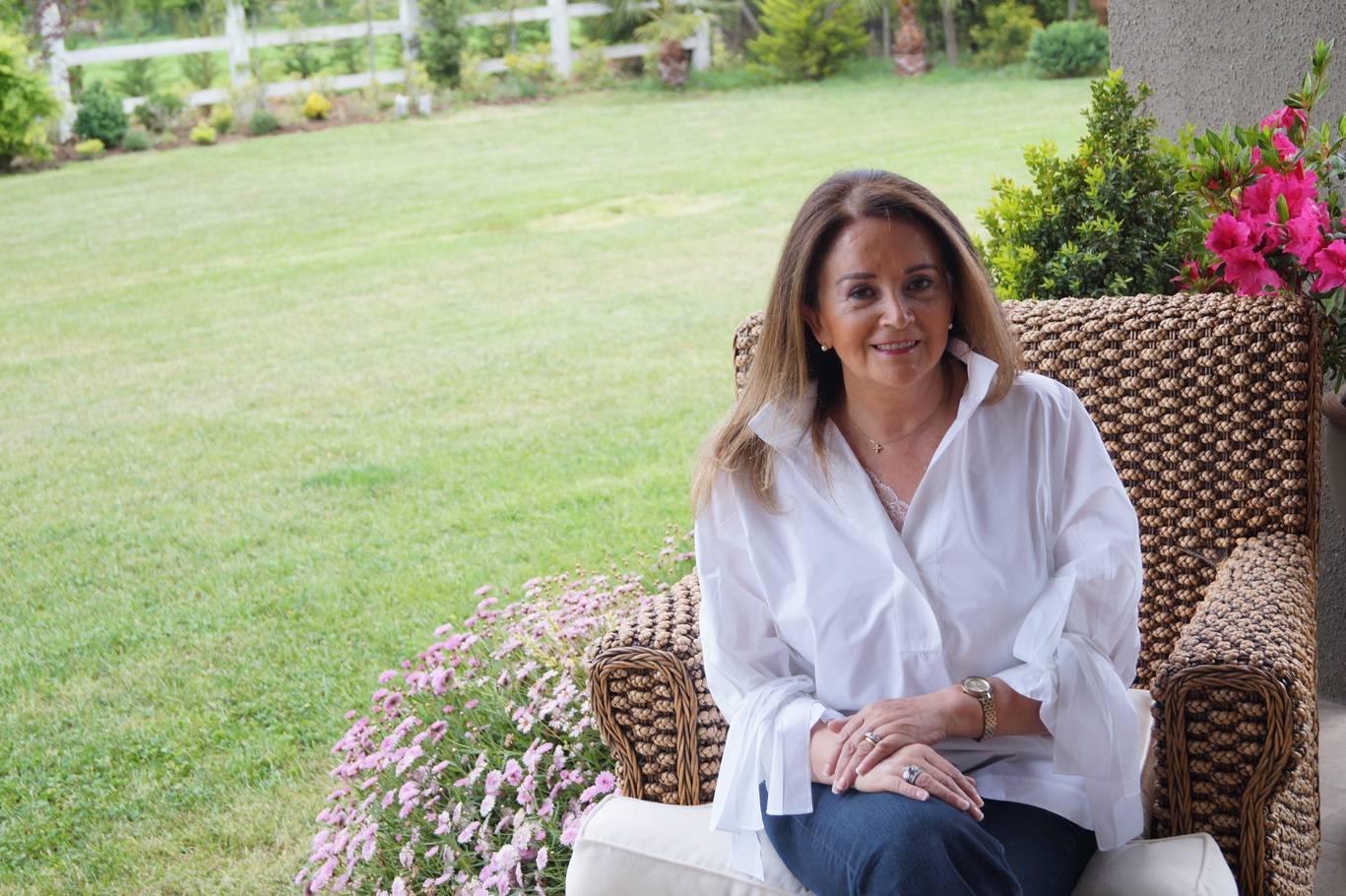 María Antonieta Rey, empresaria talquina