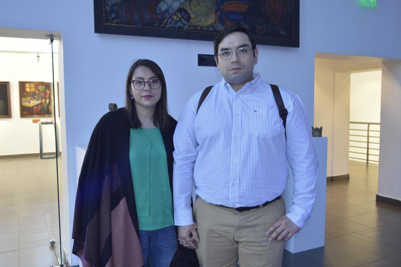Mariela Lagos y Pablo Muñoz