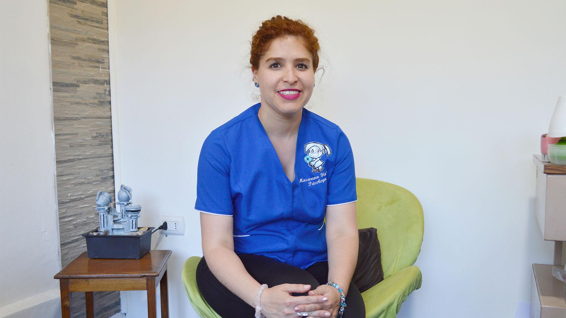 Ps. Macarena Fischer Vásquez  Psicóloga clínica infanto juvenil