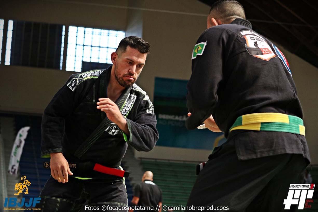 Rodrigo Bravo, cinturón negro en la IBJJF