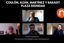 Photo of Coulón, Azán, Martínez y Baradit en Plaza Dignidad