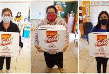 Photo of Entrega de cajas de alimentos en Escuela Básica San Luis De Malven – Mulchén